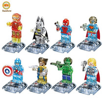 Excelentes Figuras Tipo Lego De Plastico Transparente