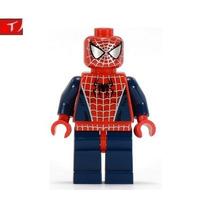Minifigura Lego Spider Man De La Pelicula 2004 Marvel