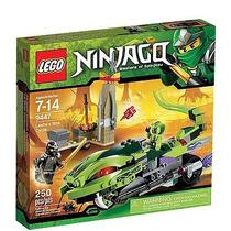 Lego Ninjago La Moto Venenosa De Lasha!!
