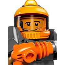 Lego Serie 12 Minero Espacial Con Todos Sus Accesorios