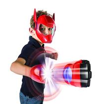 Set Mascara Y Lanzador Big Hero 6 Grandes Heroes Baymax Impo