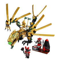 Tb Lego Ninjago The Golden Dragon 70503