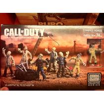 Mega Blocks Call Of Duty Zombies Horde #06826