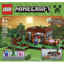 Lego Minecraft The First Night Modelo 21115