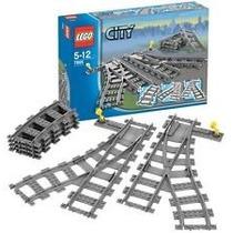 Lego 7895 Vías De Tren Switching Tracks Nuevo En Su Caja