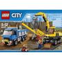 Lego City 60075 Excavadora Y Camión!!