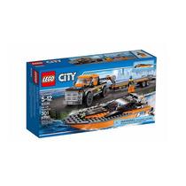 Lego City 60085 4x4 Con Lancha!!