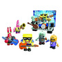 Bob Esponja Set Figuras Mega Blocks Banda Rock Remate