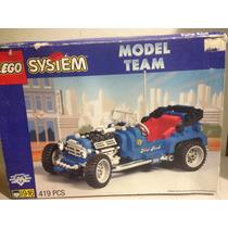 Lego Blue Fury System Model Team Set 5541 Hot Rod Carcacha