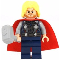 Thor Lego Original Con Comic De Avengers