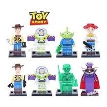 Toy Story Set 8 Figuras Tipo Lego