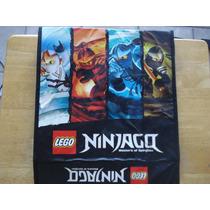 Protector De Carpetas Lego Ninjag0 Mide 30 X 30 Abierto 67 C