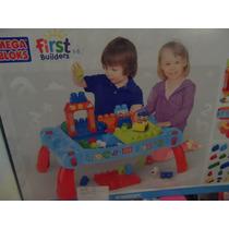 Mesa De Construcción De Mega Blok Serie First Builders