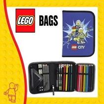 Estuche Escolar Lego City Police Original