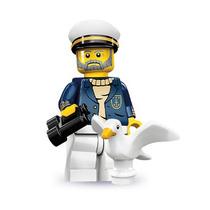 Lego 71001 Minifigure Serie 10 Capitan !!!! Vmj
