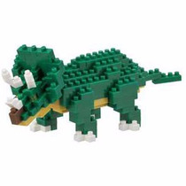Nanoblocks - Dinosaurios Nbc-112 - Dinosaurio Triceratops