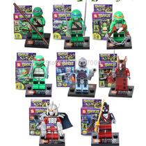 Figuras Tortugas Ninja Tmnt Lego Compatible