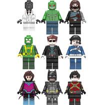 Set Batman Cocodrilo Terminator Gambito Compatibles Con Lego
