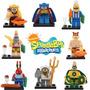 Lote 8 Figuras Bob Esponja Compatibles Con Lego