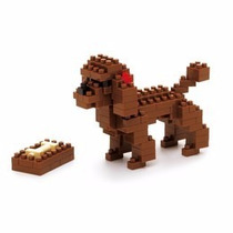 Nanoblocks - Animales Nbc-060 - Toy Poodle