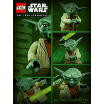 Lego Poster Yoda Chronicles Coleccion Raro