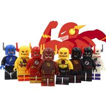 Coleccion Set De Flash 8 Diferentes Modelos Minifiguras