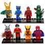 Figuras Compatibles Con Lego De Superheroes Antman, Beast,