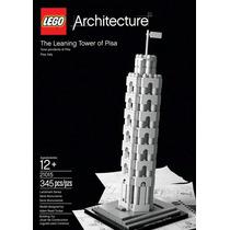 Lego 21015 - Torre Inclinada De Pisa - 345 Piezas - Italia