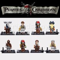 Coleccion De Figuras Tipo Lego De Los Piratas Del Caribe