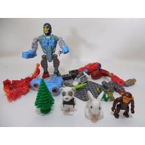 Lote Figuras Personas Animales Chango Cretor Lego D956