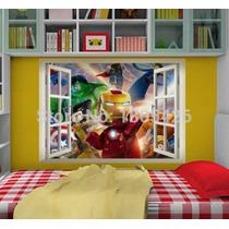 Lego Avengers 2 Ironman Sticker De Pared