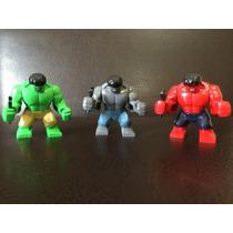 Hulk Compatible Con Lego 7cm