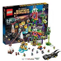 Lego Batman 76035 El Parque De Diversiones Del Guasón Gzt