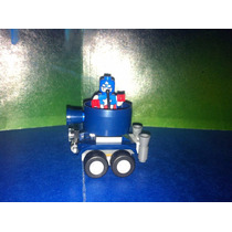 Lego Marvel Capitan America Con Auto Azul Super Heroes Js