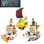 Nanoblocks One Piece Barcos Anime