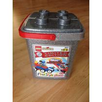 Lego Cubeta Silver Edición Limitada 25 Aniv. (muy Raro) 3027