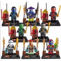 Ninjago Kai Cole Loyd Nia Cowler Zane Rai Lego Compatible