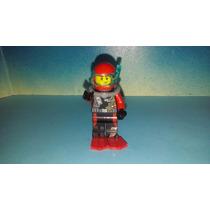 Lego Buzo Con Equipo De Profundidad Rojo Aventuras Js