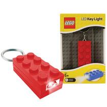 Llaveros Lego Block Con Leds Propia Azul Rojo Verde
