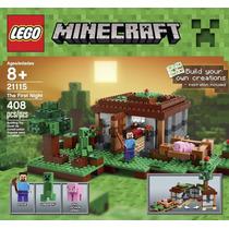 Lego Minecraft The First Night Modelo 21115