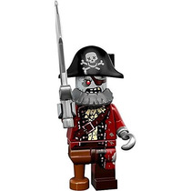 Lego 71010 Minifigures Serie 14 Monsters Pirata Zombie # 2