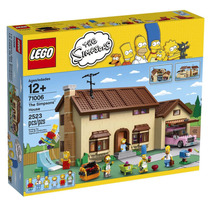 Lego Simpsons-la Casa De Los Simpsons
