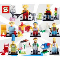 Figuras Lego , Los Simpsons
