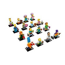 Lego Simpsons Serie 2 Juego Completo De 16 Minifigures (7100