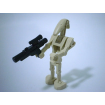 Figura De Lego Star Wars Battle Droid 2000 Con Arma Nuevo