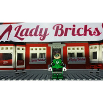 Lego Linterna Verde - Green Lantern Set 76025 Lady Bricks