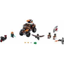 Lego - Super Heroes 76050-captain America Movie 1