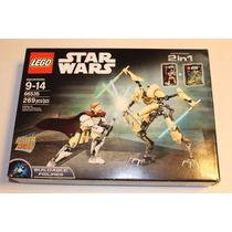 Lego Star Wars 2 En 1 Battle Pack 66535 Obi-wan Vs Grievous