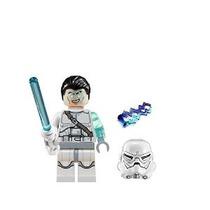 Lego Star Wars Jek-14 Minifigure Completa - Sable De Luz Bla