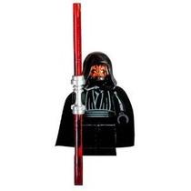 Lego Star Wars Darth Mutilar Minifigure Con Doble Lightsaber